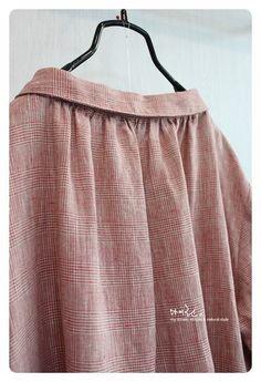 리투아니아린넨 : 깃튜닉원피스 : 네이버 블로그 Vintage Style, Vintage Fashion, Neckline, Couture, Sewing, Clothing, Projects, Tops, Dresses