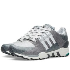 outlet store b7ee8 9540c Buy the Adidas EQT Running Support Portland in Core Heather  Vintage  White from leading mens fashion retailer END.