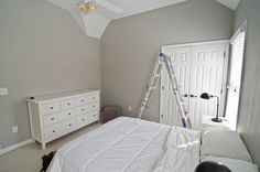 8 Quick Tips: Rustic Bedroom Remodel Fireplaces small bedroom remodel extra storage.Bedroom Remodeling On A Budget Simple bedroom remodel teenage. Paint Colors For Living Room, Living Room Grey, Valspar Paint Colors, Valspar Gray, Behr, Interior Paint Colors, Paint Colours, Wall Colours, Gray Bedroom