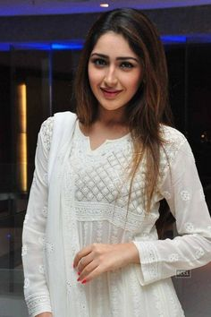 Viewing Actress Sayesha Saigal Gallery - Telugu Actress Sayesha Saigal Photos 04 in Sayesha Saigal Gallery. Browse more Photos of Sayesha Saigal at Kollywood Zone's Sayesha Saigal Image Gallery. Indian Attire, Indian Wear, Indian Dresses, Indian Outfits, White Anarkali, Traditional Sarees, Hottest Pic, Indian Designer Wear, Indian Beauty
