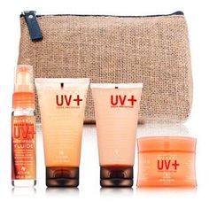 Alterna Bamboo UV Color Protection On-The-Go Travel Set 4 piece