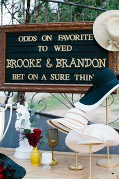 Wedding Themes - I might be a Midwest-turned-East Coast girl, but this Kentucky Derby weekend I'm embracing my inner Southern Belle all the way. And thanks to The Purple Tree , 24 Carrots , Wildflower Linens and . Wedding Themes, Wedding Ideas, Wedding Decor, Ikea Wedding, Wedding Hacks, Wedding Lighting, Fall Wedding, Wedding Reception, Wedding Stuff