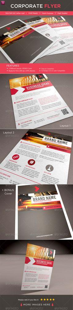 Print Templates - CORPORATE FLYER | GraphicRiver