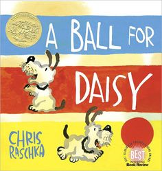 This is a wordless book, illustrated with ink, water color, and gouache. It is a beautiful book for young children who are just learning about how books and story sequences work. This book has colorful illustrations, with lots of white space, to help little ones focus. The primary story here is about a dog and its ball. However the story line also shows the bond of a child and its pet; and the joy of sharing. These are important concepts for children ages 3-6.