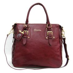 SG$274.00 Cheap Prada Bn1983 Red Shiny Leather Tote Bag Shopping Online