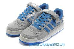 Adidas Adicolor Forum Lo Skate Shoes G14033 Grey Blue