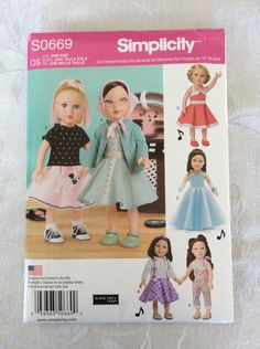 A personal favorite from my Etsy shop https://www.etsy.com/listing/265376316/american-girl-doll-clothes-new