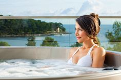 Luxury accommodation in wonderful Suites with private Jacuzzi's situated at the top of the new 5 Star Hotel Bellevue