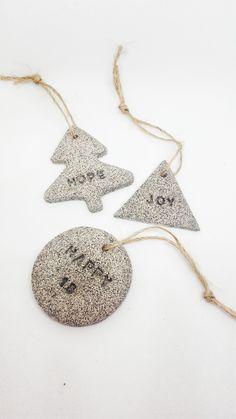 Granite effect ornaments