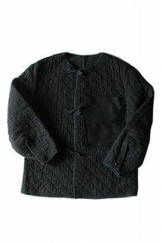 ビンテージ キルティングコットンジャケット(胸ポケット) [JACKET-246]