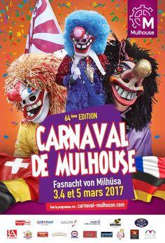 Programme Carnaval de Mulhouse 03,04 et 05 MARS 2017