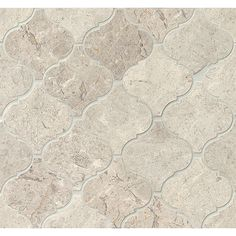 Install these mosaic stone tile sheets from Bedrosians on your kitchen or…