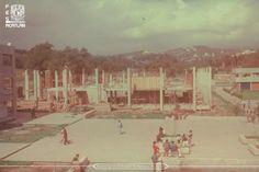 La edificación de un espacio que es testigo de la formación de profesionistas talentosos; responsables del prestigio de nuestra Facultad, la más grande de la UNAM.
