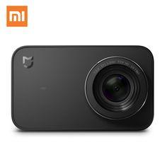 Xiaomi mijia мини Действие Спорт Камера 4 К 30fps видео Запись Wi Fi Цифровые камеры 145 Широкий формат 2.4 дюймов Сенсорный экран App купить на AliExpress