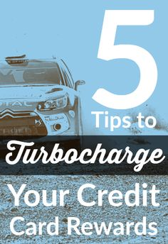 Our top 5 tips to turbocharge your credit card rewards!