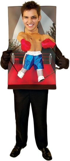 Teenie Weenies Boxer Adult Costume  Product #: WC190 Retail Price: $56.04 Sale Price: $30.88