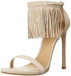 Stuart Weitzman Women's Lovefringe Dress Sandal