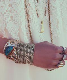 Boho... ohhhh so odd.  I have that silver bracelet on the bottom --LD   ♥♥♥♥♥♥♥