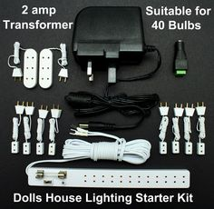 Wiring Starter Kit with Power Supply - also site for the remote controllers