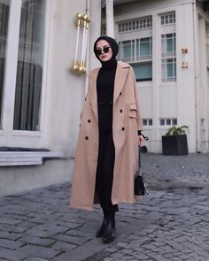 17 New Ideas holiday outfits women hijab Image may contain: 1 person, standing, phone and indoor Şevval Muslim Fashion, Modest Fashion, Hijab Fashion, Fashion Outfits, Classy Fashion, Fashion Styles, Dress Fashion, Womens Fashion, Modest Dresses