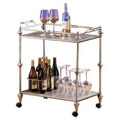 Bingham Serving Cart- I need this in my life!