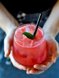 This watermelon #margarita is perfect for a warm day at Viceroy Zihuatanejo