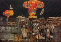Antonio Berni: El mundo prometido a Juanito Laguna - Educ. Museum Of Fine Arts, Art Museum, Social Realism, Cubism, American Art, Art For Kids, Houston, Illustration, Painting
