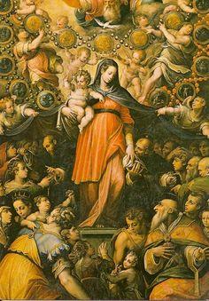 Madonna del rosario - Giorgio Vasari (Vc-2)