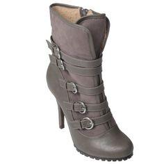 Hailey Jean Co Womens Buckle High Heel Boots