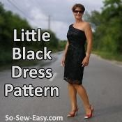 Little Black Dress - via @Craftsy
