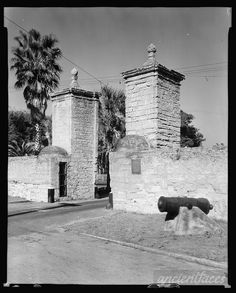 City Gates, St. Augustine, St. Johns County, Florida