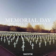 Happy Memorial Day! [Daystar.com]