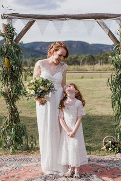 REAL WEDDING: Kylie + Michael - Collits Inn - WedShed Anna Campbell Isobelle Dress