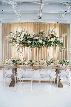 Elegant Wedding, Boho Wedding, Wedding Table, Floral Wedding, Homemade Wedding Centerpieces, Wedding Decorations, Boho Theme, Dried Flower Arrangements, Indoor Wedding