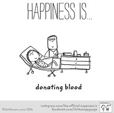 Donate blood today!