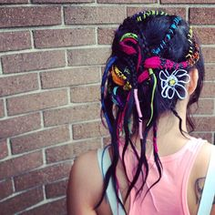 #braids #hairwraps #hairtapestry I did @aphairsalon :) #hair #hairbrained #behindthechair #beauty #davines www.facebook.com/beautybykrystalgardner #lorac #makeup #ilovemakeup