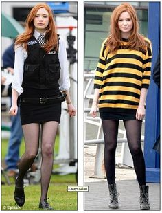 Amy Pond Shorts Outfit | ... Time Lord's saucy, short-skirted new companion sent viewers into orbit