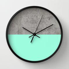 Sea on Concrete Wall Clock - $30.00