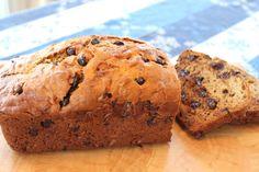 Chocolate chip banana bread  Play #hititrich now --> http://zynga.tm/h0QJ
