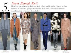 Paris Fall 2014 Trend Report: Never Enough Knit   Edited by Roopal Patel and Sarah Slutsky