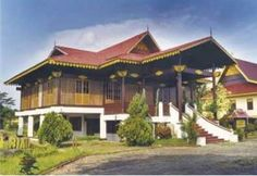 Melayu selaso kembar house from riau
