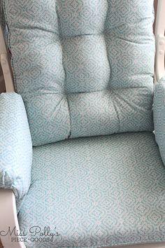 Custom Chair Cushions/ Glider Cushions/ Glider Replacement with a FOAM SEAT Glider Cushions, Glider Chair, Seat Cushions, Boho Nursery, Big Girl Rooms, Cushion Fabric, Gliders, Gender Neutral, Cushion Covers
