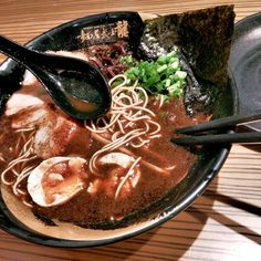 [I ate] Black Garlic Ramen