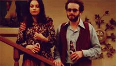 """She couldn't keep her hands off of him.   Community Post: 21 Reasons Jackie And Hyde From """"That '70s Show"""" Were The Best Couple Ever"""