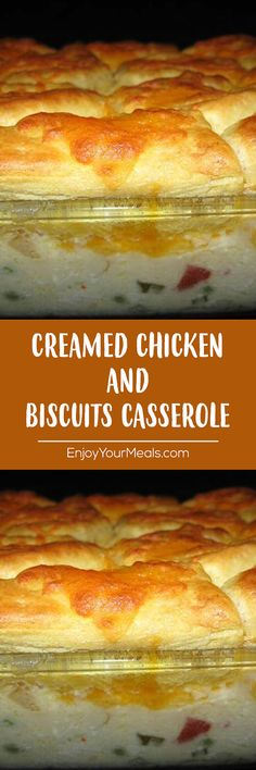Creamed Chicken and Biscuits Casserole is part of Casserole recipes - 2 cup jarred roasted red … Mayonnaise, Great Recipes, Favorite Recipes, Dinner Recipes, Chicken And Biscuits, Fast Food, How To Cook Chicken, Cooked Chicken, Rotisserie Chicken