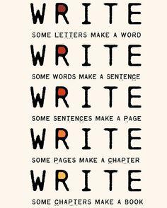 The importance of writing. www.palmtreesandpellegrino.com
