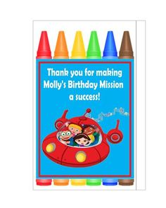 LIttle Einsteins Party favors and invitations
