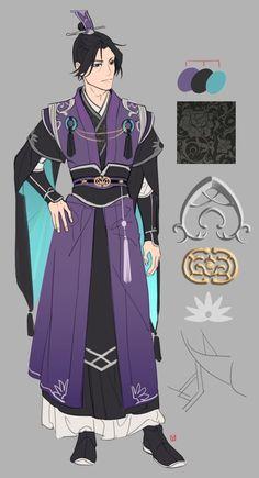 Fantasy Character Design, Character Drawing, Character Design Inspiration, Character Concept, Clothes Draw, Drawing Clothes, Fantasy Characters, Anime Characters, Chinese Clothing