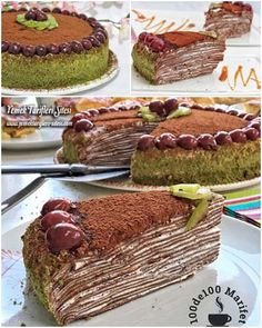 Çikolatalı Krepli Pasta Tarifi