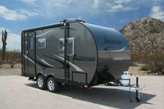 Camplite 14DB Automotive Travel Trailer Overview   Livin' Lite RV